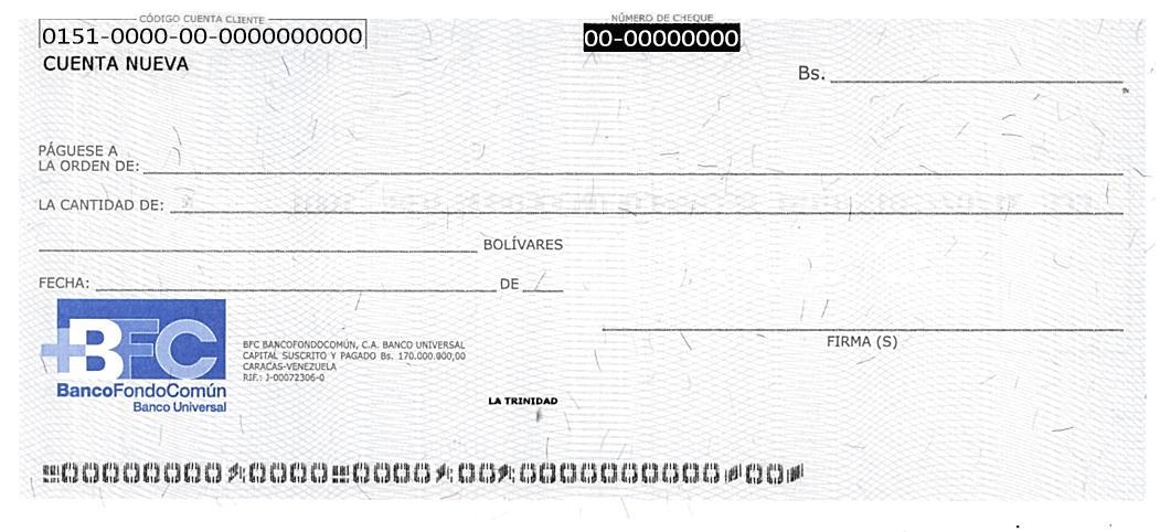 Bfc banco fondo com n novedades for Solicitud de chequera